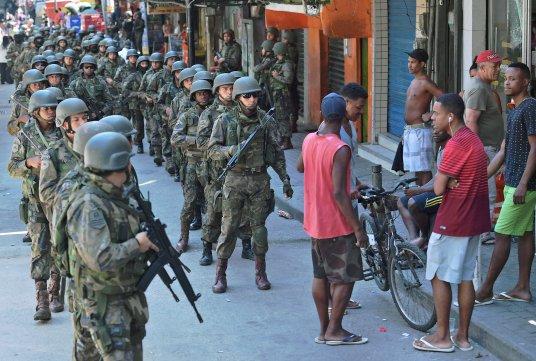 BRAZIL-CRIME-VIOLENCE-ROCINHA